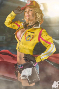 Danny Cozplay as Cindy Aurum