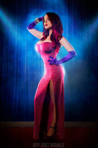 Claire Anastasia as Jessica Rabbit
