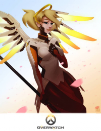 Mercy from Proxyillustration