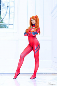 Ellei Marie as Asuka Langley Soryu