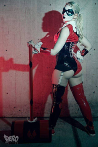Unknown Female Artist as Harley Quinn
