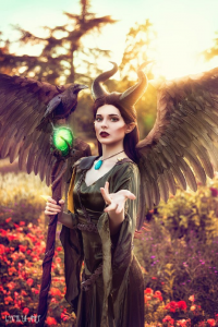 Blossom Of Faelivrin as Maleficent