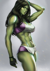 She-Hulk from Dandonfuga