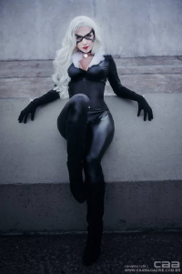 Cami Cosplayer as Black Cat