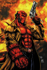 Hellboy from Henrique