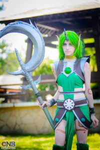 Agos Ashford Cosplay as Soraka