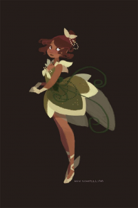 Princess Tiana from Ann Marcellino