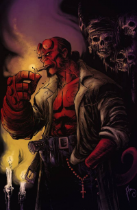 Hellboy from Adriano Batista