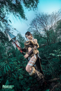 Blanchard as Nidalee