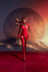 Helly Von Valentine as Asuka Langley Soryu