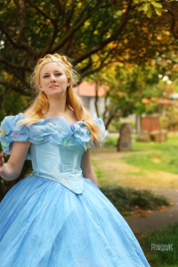 Unknown Female Artist as Cinderella