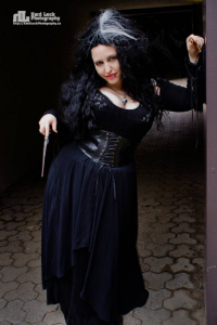 Candys Cosplays as Bellatrix Lestrange