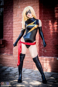 Ana Silvia Bertola as Ms. Marvel