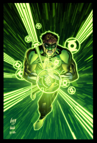 Green Lantern from Kyle Ritter