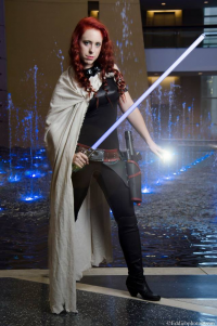 Amanda Dawn as Mara Jade Skywalker