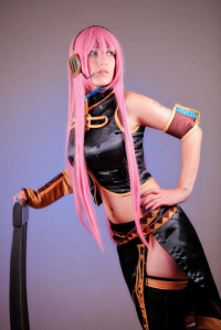 Dalin Cosplay as Luka Megurine