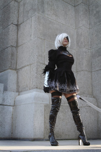 Bec's Cosplay Wonderland as 2B