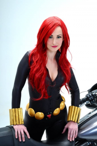 Allison Trinh as Black Widow