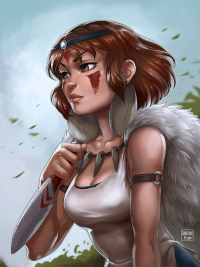 Princess Mononoke from Dandonfuga
