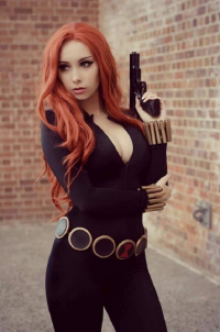 Beke Cosplay as Black Widow