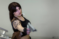 Beged Cosplays as Revy