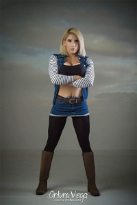 Gaby Barbie Fit as Android 18