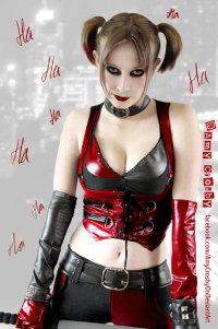 Amy Crosby as Harley Quinn
