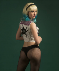 Maid Of Might Cosplay as Gwen Stacy