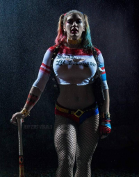 Alyssa Loughran as Harley Quinn