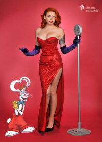 Babyj Marie as Jessica Rabbit