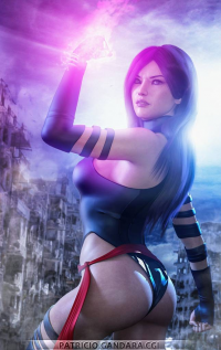 Unknown Female Artist as Psylocke