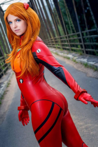 Atai Cosplay as Asuka Langley Soryu