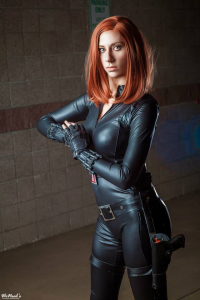 Aly Cat Cosplay as Black Widow