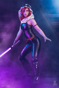 April Gloria as Mara Jade Skywalker