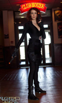 Bera Cuda as Black Widow
