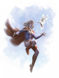 Supergirl from Alex Garner