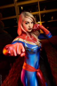 Ellei Marie as Ms. Marvel