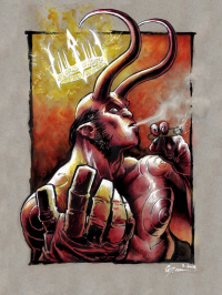 Hellboy from Daniel Mikah Govar