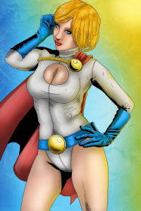 Power Girl from Marc Ouellette