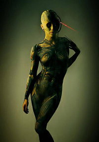 Dezi Desire as Borg