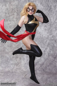 Eccentric Casey as Ms. Marvel