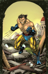 Wolverine from Bacchicolorist