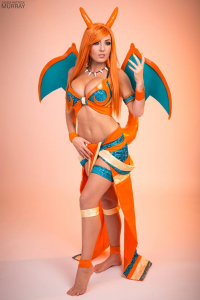 Jessica Nigri as Charizard