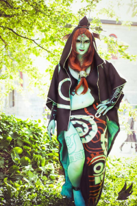 Cha Meleon Cosplay as Midna