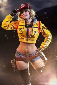 Enji Night as Cindy Aurum