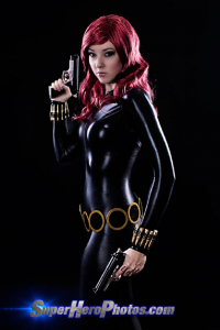 Anna OMGlitzy as Black Widow