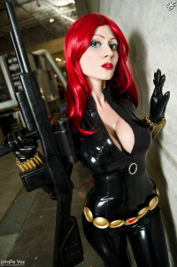 Adami Langley as Black Widow