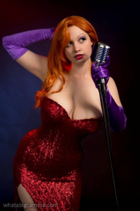 Ardella Cosplay as Jessica Rabbit