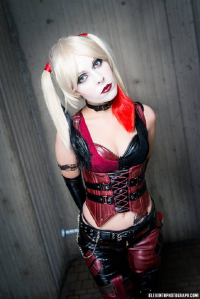 Ammie as Harley Quinn