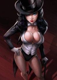 Zatanna from Dandonfuga
